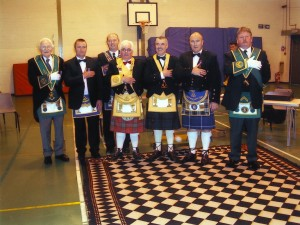 Installation of J Maclean of Lodge 1775 (Tiree)