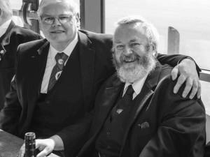 Archie Chalmers and John Corbett