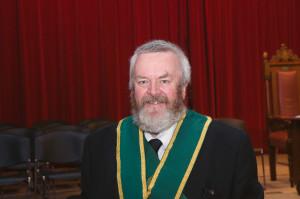 John Corbett, Provincial DoC of Argyll & the Isles led the ceremony of rededication.