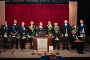 Past Masters of Lodge St Molios