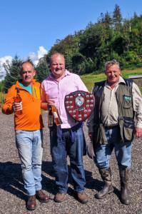 The winning team from Loch Fyne 754