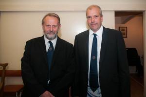 Bill Brown and Donald Mackelvie